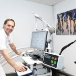 Diabetes und Sport (Sujetbild Untersuchung)